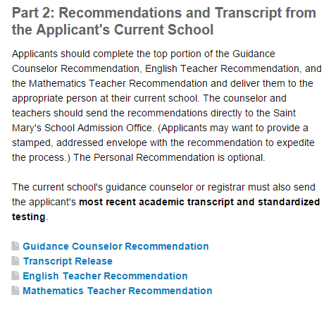 Applications PrincipalHeadCounselor Recommendation Form